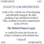 Dialects Of The British Isles, Vol. 2