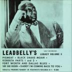 Lead Belly's Legacy, Vol. 3: Early Recordings