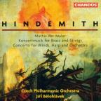 Hindemith: Mathis der Maler; Konzertmusik for Brass & Strings