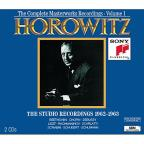 Horowitz: The Studio Recordings 1962-1963