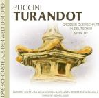 Puccini: Turandot (In Deutscher Sprache)