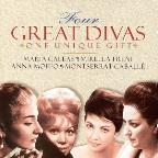 Four Great Divas / Callas, Caballé, Moffo, Freni, et al
