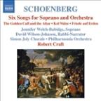 Arnold Schoenberg: Six Songs for Soprano and Orchestra