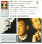 Beethoven: Piano Concerto no 5, Fantasia / Tan, Norrington