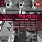 Martinu: Symphony No.4, Les Fresques Etc.