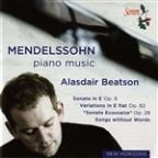 Mendelssohn: Piano Music