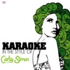 Karaoke - In The Style Of Carly Simon - Single