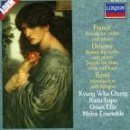Franck: Sonata for Violin and Piano; Debussy: Sonatas; Ravel: Introduction and Allegro