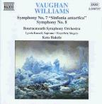 "Vaughan Williams: Symphonies Nos. 7 ""Sinfonia antartica"" & 8"