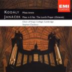 Kodály, Janácek: Choral Music/Cleobury, King's College Choir