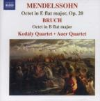 Mendelssohn: Octet in E flat major, Op. 20; Bruch: Octet in B flat major