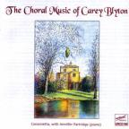 Choral Music of Carey Blyton