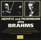 Brahms: Violin Sonata/Cello Sonata/Double Concerto