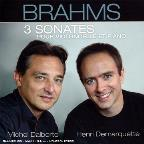 Brahms: 3 Sonatas For Clo & Pno