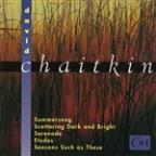 Summersong: Music By David Chaitkin