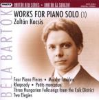 Bartok: Works for Piano Solo (1)