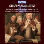 Giuseppe Sammartini: Six Solos for German Flute, Violin or Hautboy, Op. 13