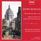 York Bowen: String Quartet Nos. 2 & 3; Phantasy-Quintet