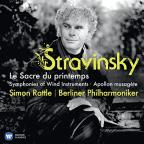 Stravinsky: Le Sacre du printemps; Symphonies of Wind Instruments; Apollon musagete
