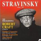Stravinsky: Violin Concerto/Ebony Concerto/The Flood