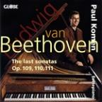Beethoven: The Last Sonatas, Op. 109-111