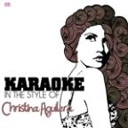 Karaoke - In The Style Of Christina Aguilera - Single