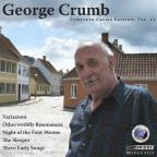 George Crumb: Variazioni; Otherworldly Resonances; Night on the Four Moons; The Sleeper; Three Early Songs