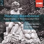 Handel: Keyboard Suites, Vol. 2; Beethoven: Piano Sonata, Op. 31/2