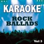Karaoke Bash: Rock Ballads Vol 3