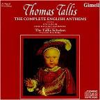 Tallis: Complete English Anthems / Phillips, Tallis Scholars