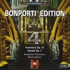 Bonporti: Inventioni, Op. 10; Sonate Op. 7, Vol. 4