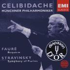 Fauré: Requiem; Stravinsky: Symphony Of Psalms