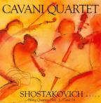 Shostakovich: String Quartets 1,7 & 14