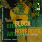 Bloch: Schelomo;  Honegger: Cello Concerto / Schmid, Roggen