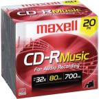 CD-R - 700MB, 20 Pack