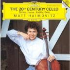 20th Century Cello - Kodaly, Britten, Et Al / Haimovitz