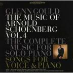 Music of Arnold Schoenberg, Vol. 4