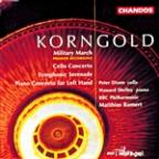 Korngold: Cello Concerto, Etc / Dixon, Shelley, Bamert