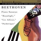 "Beethoven: Piano Sonatas ""Moonlight,"" ""Les Adieux,"" ""Pathetique"""