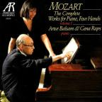 Mozart: Complete Works For Piano 4 Hands Vol 1 /Balsam, Raps