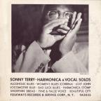 Sonny Terry's Harmonica and Vocal Solos