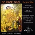 De Profundis: The Art of Dying