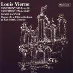 Vierne: Symphonies no 1 and 2 / David Sanger