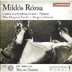 Rózsa: Orchestral Works Vol 1