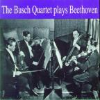 Busch Quartet Plays Beethoven