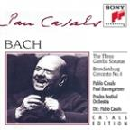 Bach: The Three Gamba Sonatas; Brandenburg Concerto No. 4