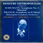 Schumann, Franck: Symphonies / Mitropoulos, Minneapolis SO