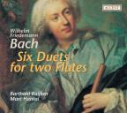 Wilhelm Friedemann Bach: Six Duets for Two Flutes