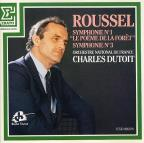 Roussel: Symphony no 1 & 3 / Dutoit, French National Orch