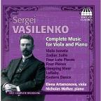 Sergei Vasilenko: Complete Music for Viola & Piano